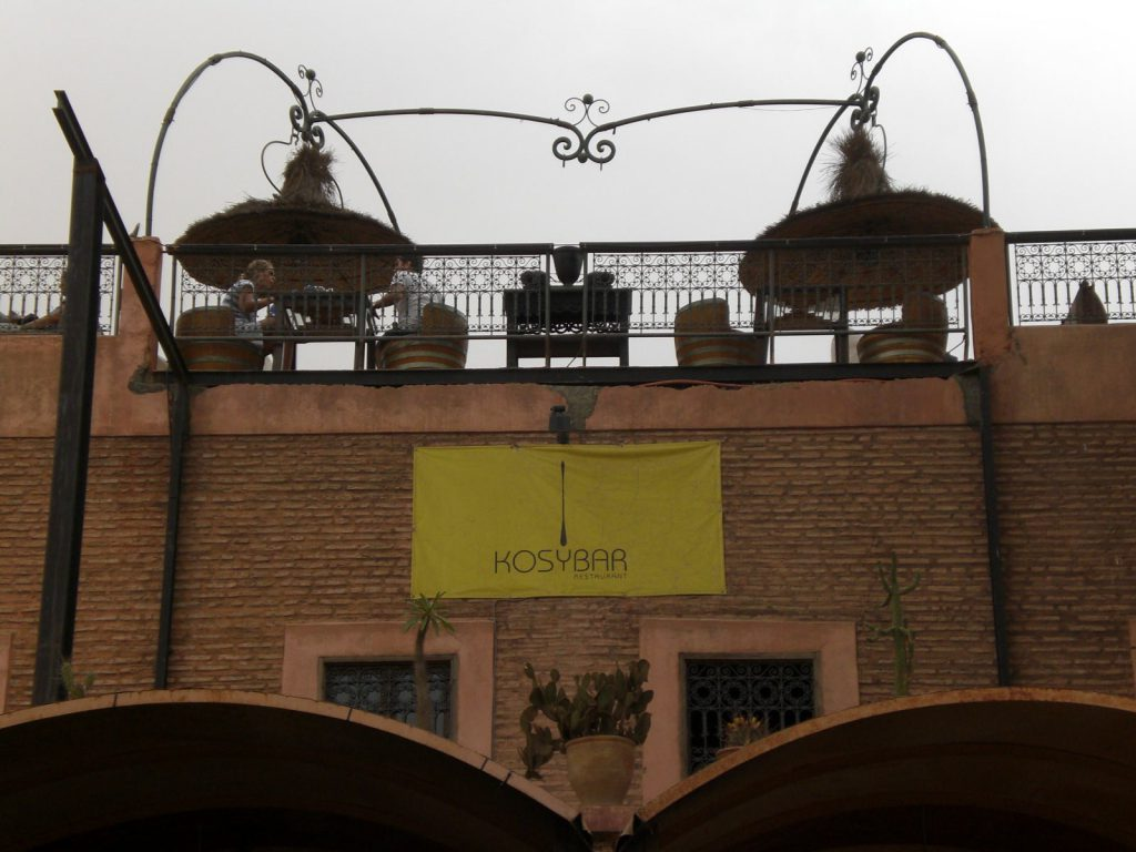 Best Restaurant bar  Marrakech Kosybar