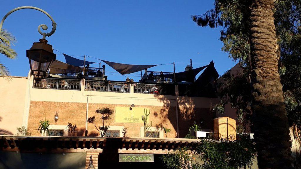 Best Restaurant bar  Marrakech Kosybar